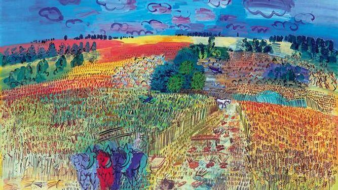 Campo de trigo, Raoul Dufy