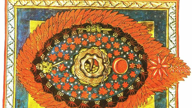 """Visiones o """"heridas"""" de 'Scivias', uno de los escritos de santa Hildegarda"""