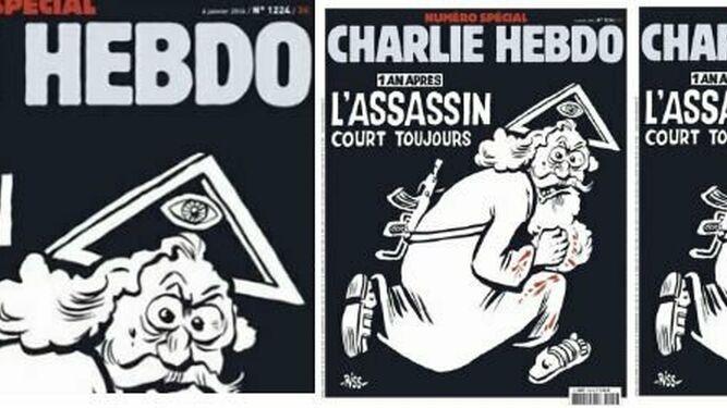 La polémica portada de Charlie Hebdo