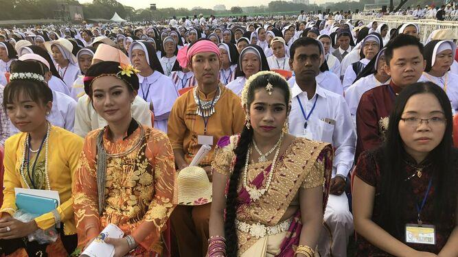 Mujeres en Birmania