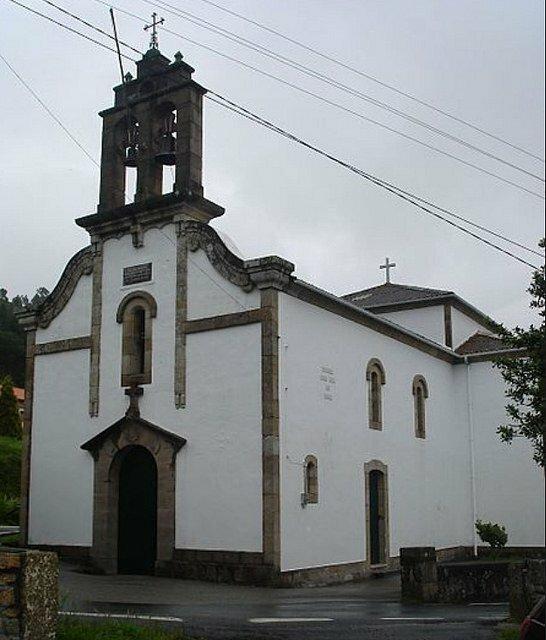 Una de las parroquias de Xaquin