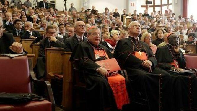 Algunos de los capitanes de la oposición al Papa