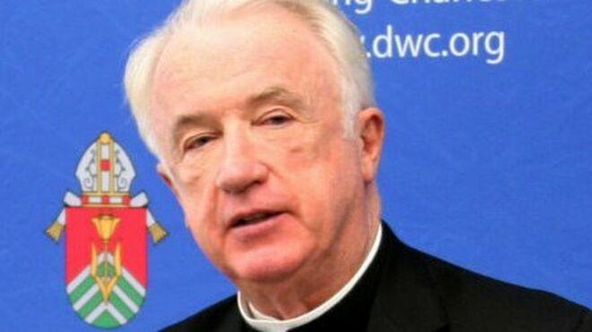 El cesado obispo de Wheeling-Charleston, Michael J. Bransfield
