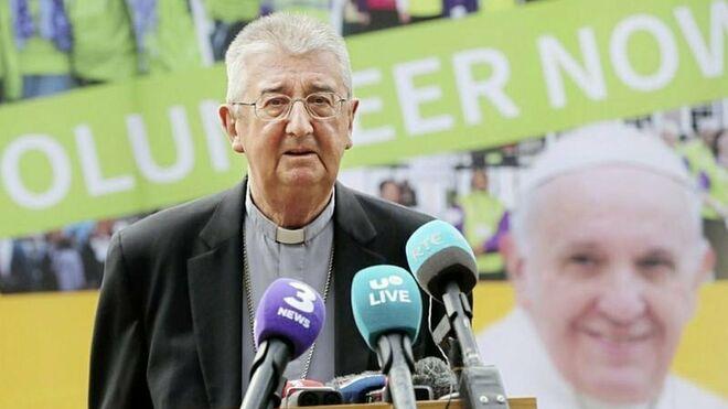 Monseñor Diarmuid Martin, arzobispo de Dublín