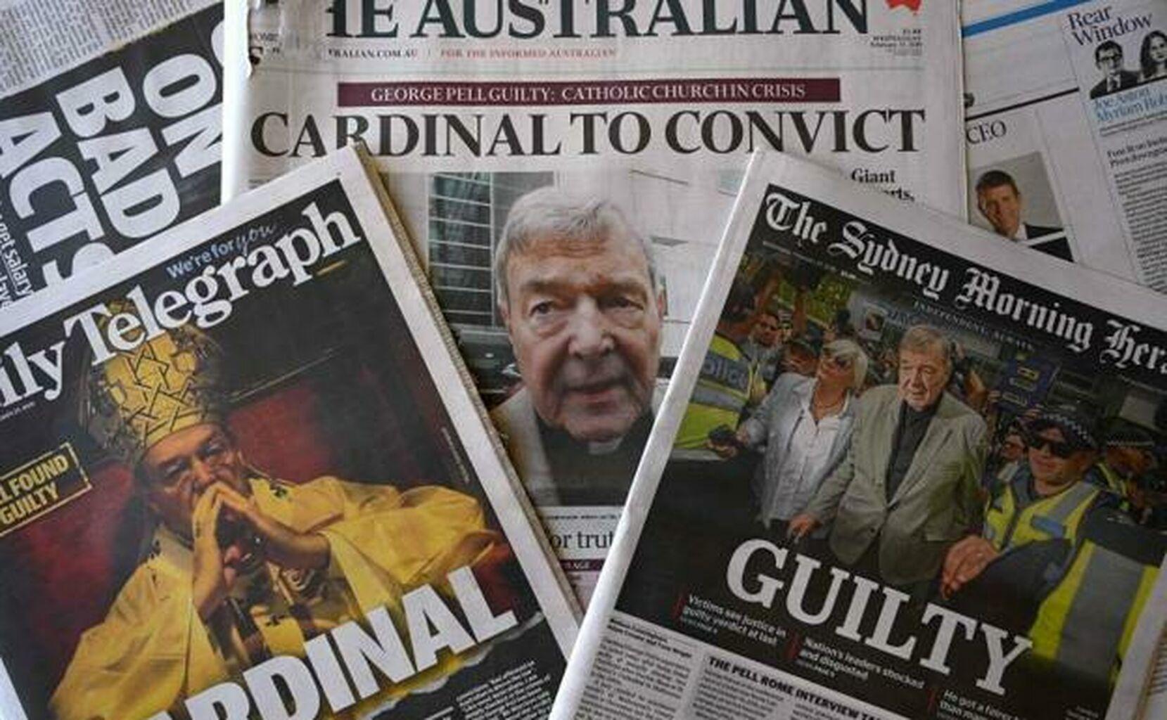 Información sonbre el  juicio al cardenal Pell