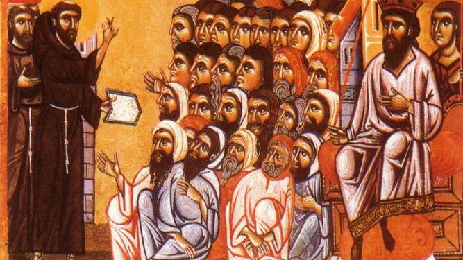 Encuentro de Francisco de Asís y el Sultán, modelo del diálogo interreligioso