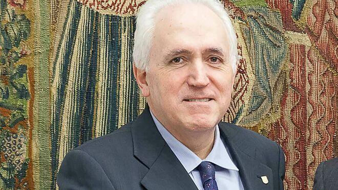 El rector de la Universidad de Deusto, José María Guibert