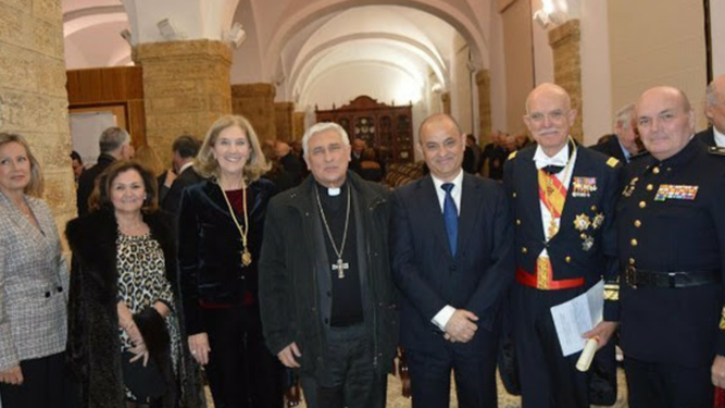 Zornoza y su delegado de Fundaciones, con uniforme