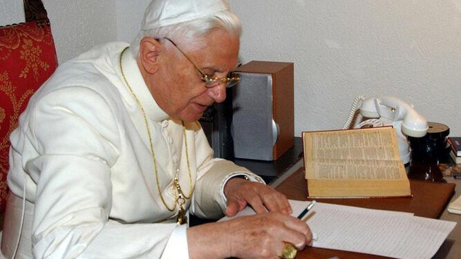 A Benedicto XVI hay que leerle despacio