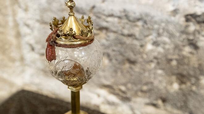 La Catedral De Valencia Custodia Dos Espinas De La Corona De Cristo