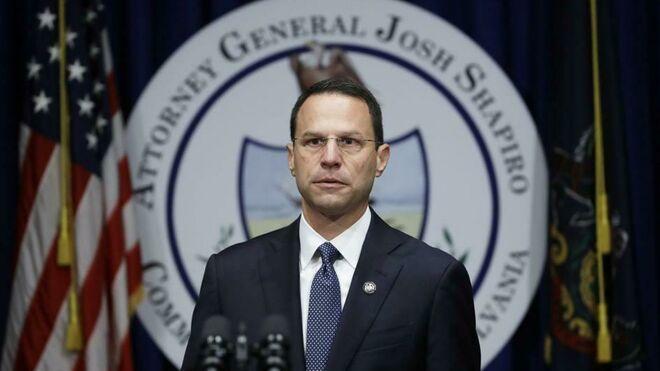 El fiscal general de Pensilvania, Josh Shapiro