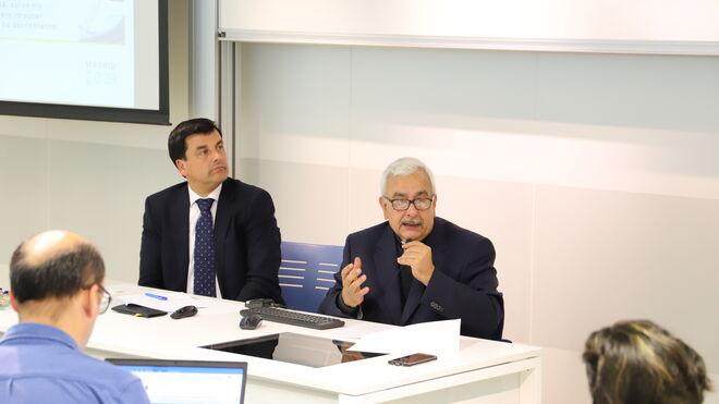 El rector de la UCAB, José Virtuoso, en la Universidad Loyola Andalucía