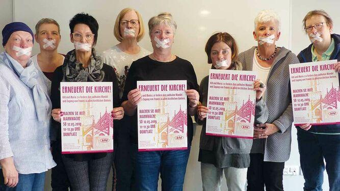 Católicas alemanas protestan contra el veto de las mujeres al sacerdocio