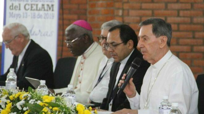 Rubén Salazar, en la apertura de la Asamblea del CELAM