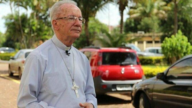 El cardenal Claudio Hummes, Relator del Sínodo sobre la Amazonía y presidente de la REPAM