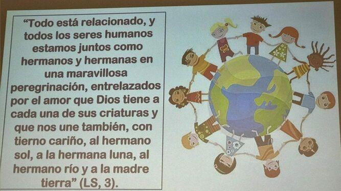 Presentación en la conferencia sobre la Amazonía en la Gregoriana