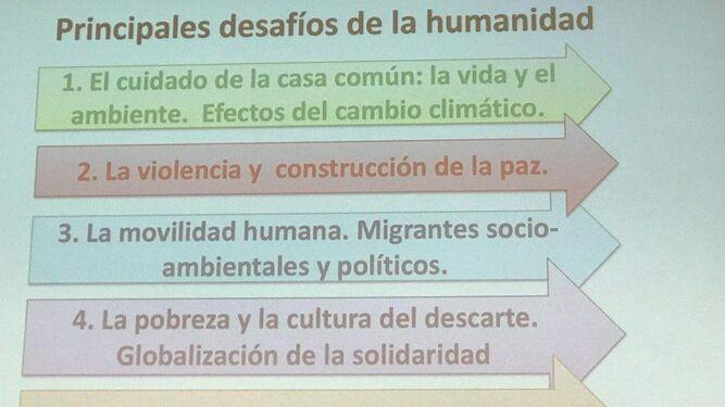 Principales desafíos de la humanidad