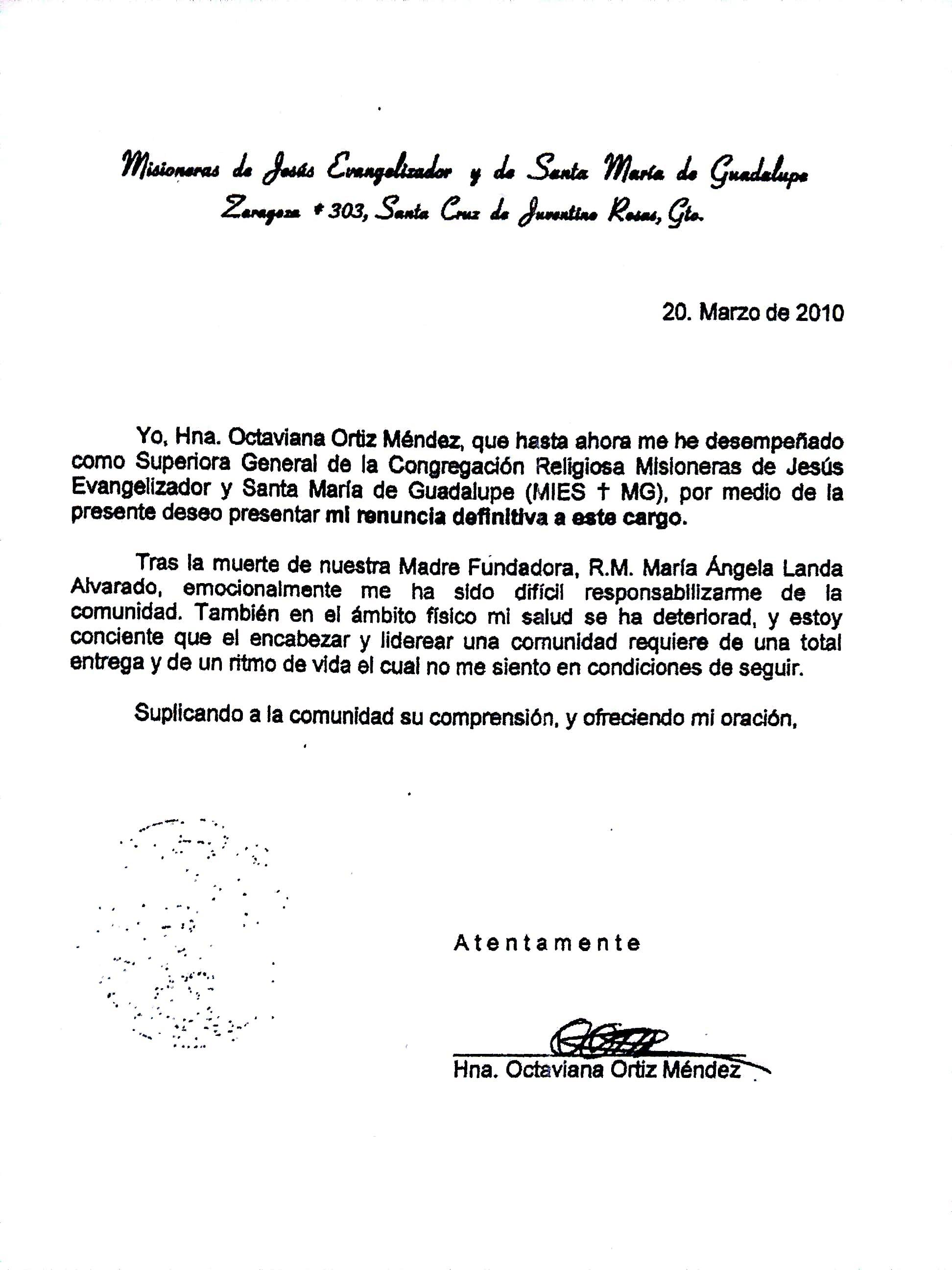 carta octaviana