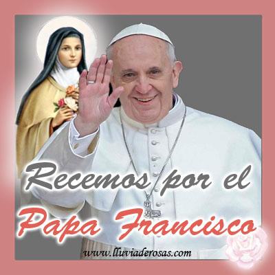 Orar por las intenciones del papa