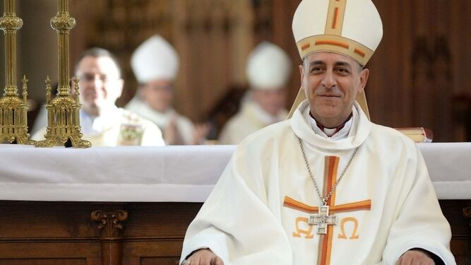 El arzobispo de La Plata, Víctor Manuel Fernández