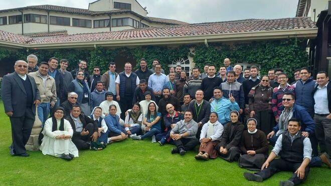 Miembros del CEBITEPAL, centro de formación del CELAM