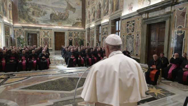 El Papa y los Nuncios