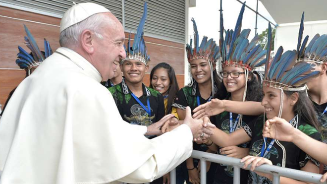 Papa y Amazonía