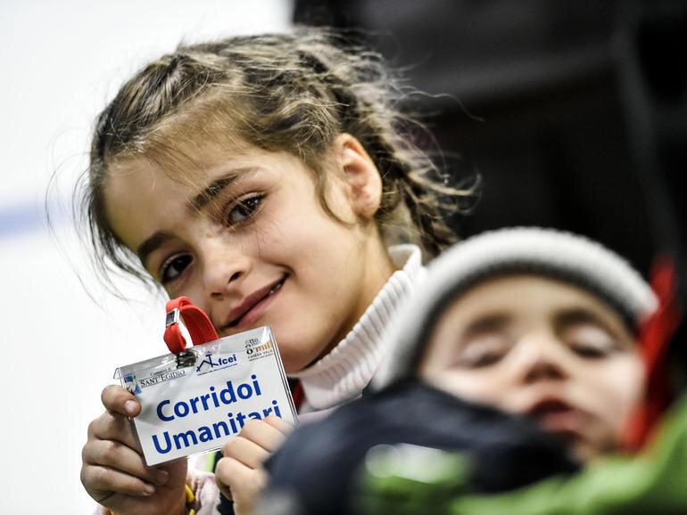 Corredores humanitarios en España ya