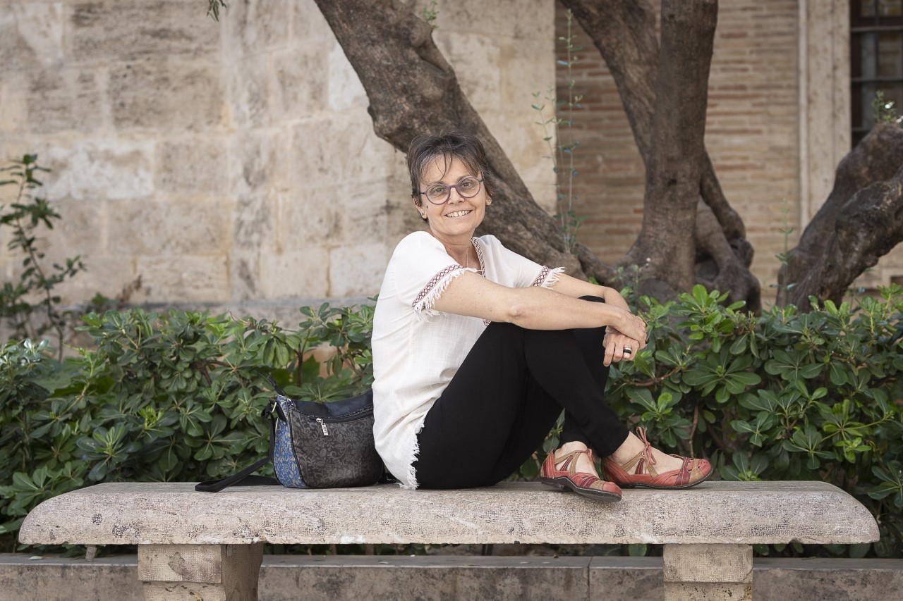 Eugenia Lloris en la UCV