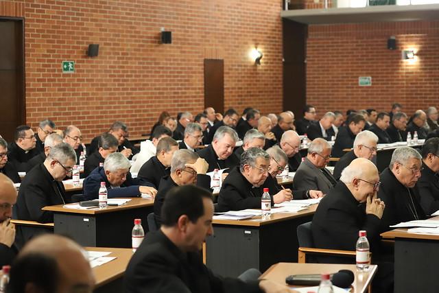 Obispos de Colombia en la Plenaria