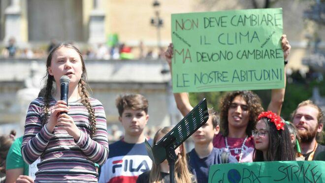 """""""Jóvenes, imiten el ejemplo de Greta Thunberg"""""""
