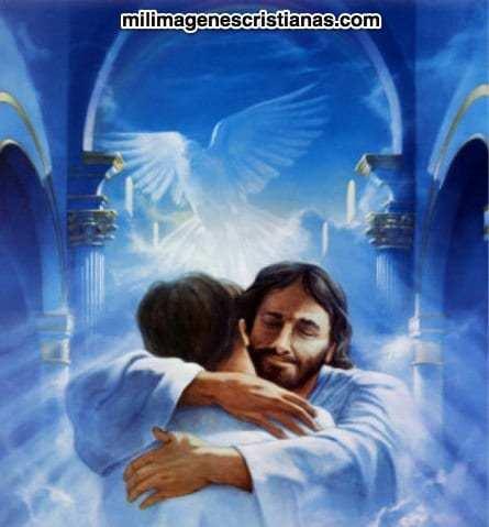 Abrazo místico de Dios