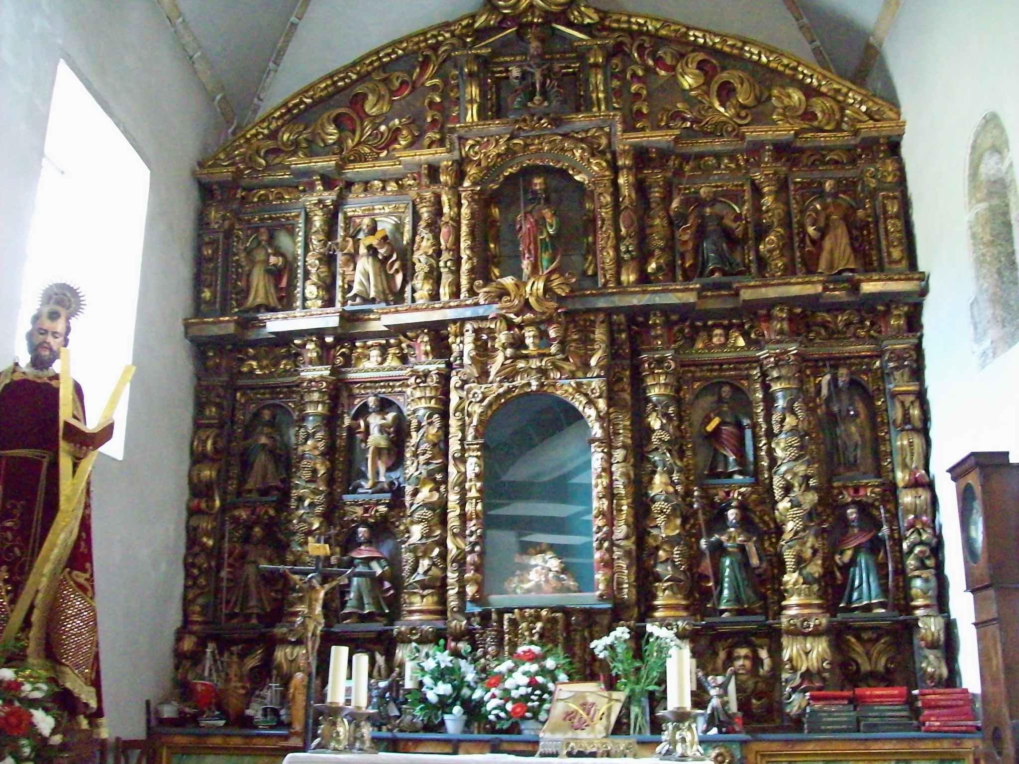 Retablo Ermita de San Andres de Teixido