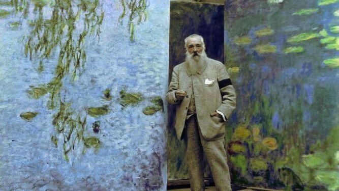 Monet entre sus 'ninfeas'
