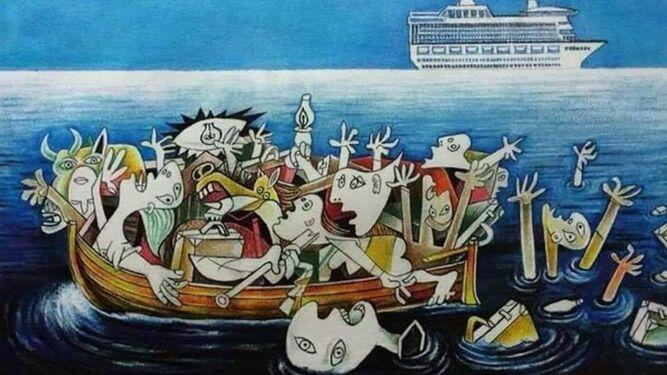 El 'Guernica' del Mediterráneo