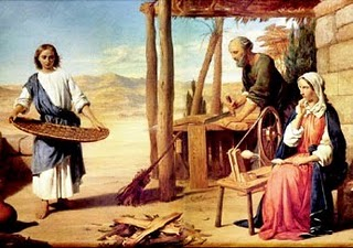 María en Nazaret