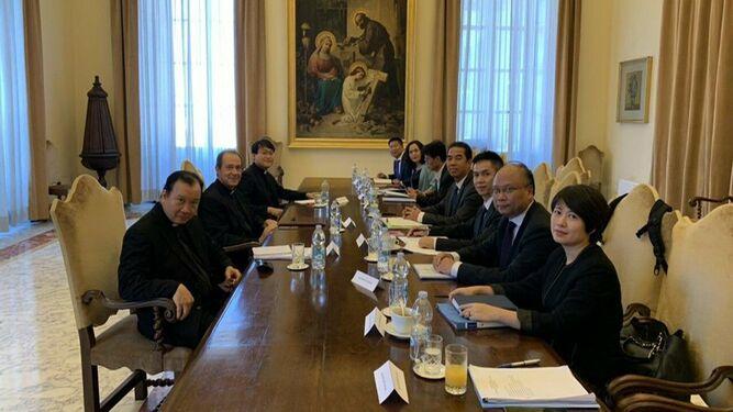 Diálogos Santa Sede-Vietnam