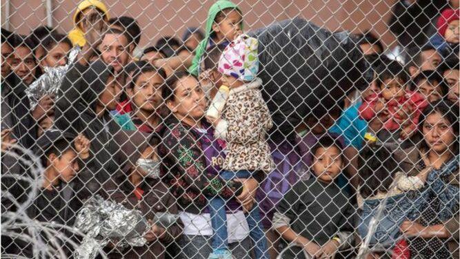 Migrantes menores en EEUU