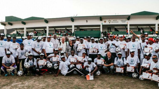 Scholas promueve el deporte en Mozambique