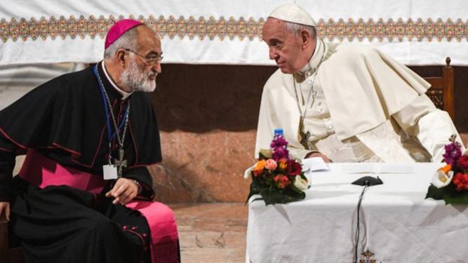 El Papa y  Cristóbal López