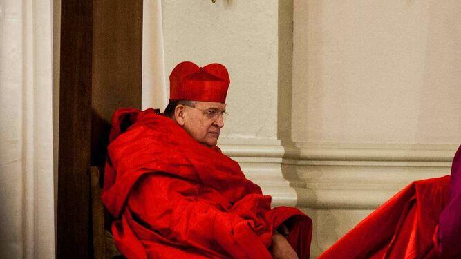 El cardenal Burke