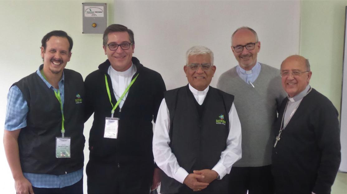 Reunión CELAM - REPAM en Bogotá