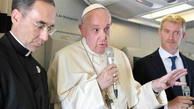 """Francisco: """"No tengo miedo a un cisma"""""""