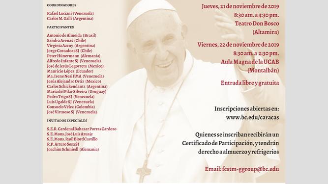 Reforma de estructuras en la Iglesia de hoy. Programa