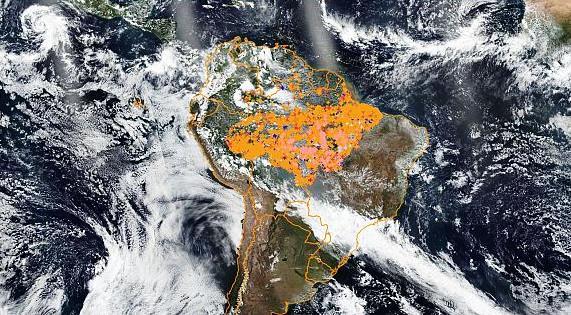 Incendios Amazonía 2