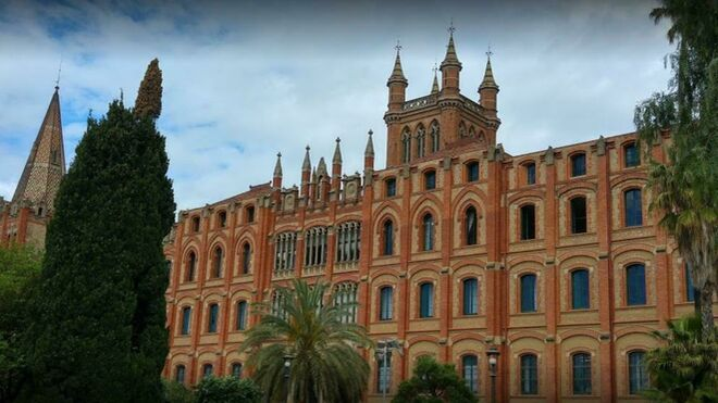 Colegio de Sant Ignasi, en Barcelona