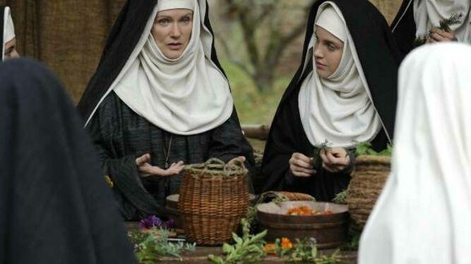 Fotograma del film sobre Hildegarda von Bingen