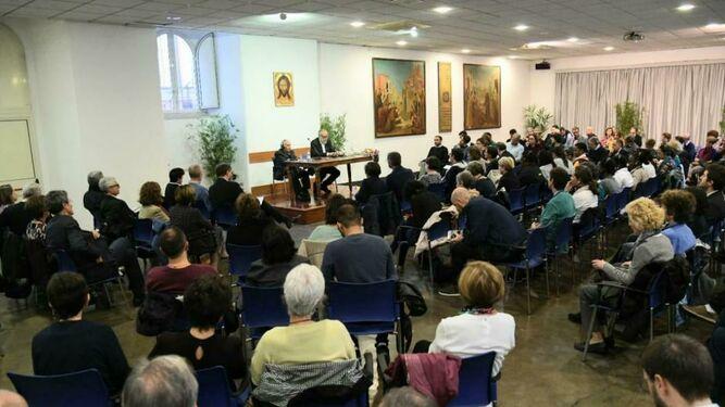 Charla de Gustavo Gutiérrez en Sant'Egidio
