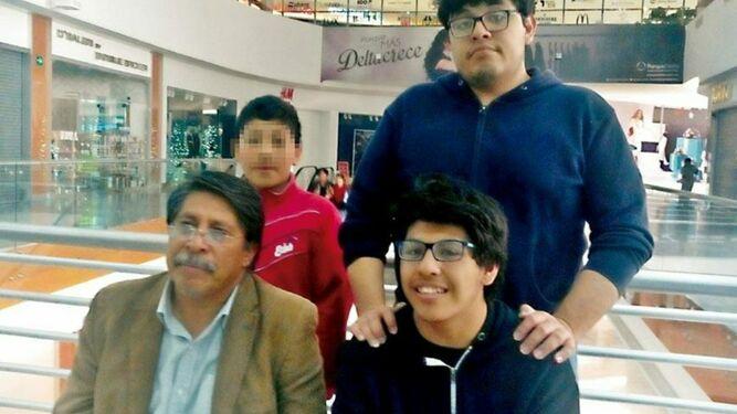 Familia Machorro León. Foto: Proceso