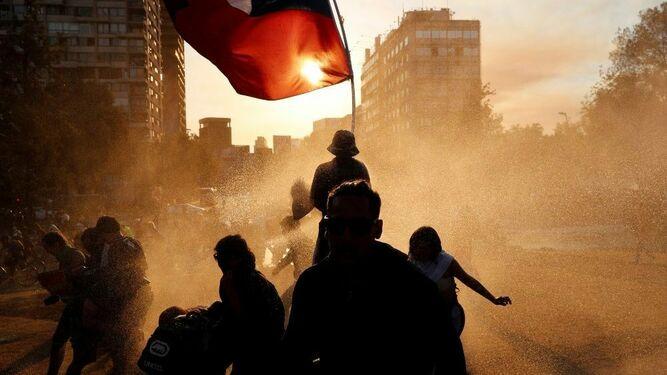 La manifestaciones sociales de Chile han derivado en episodios de violencia